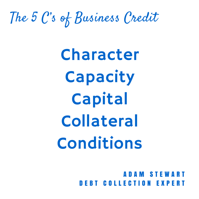 """debt collection"", ""bad debt"",""business credit"""
