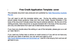 get your free credit control template pack debt recoveries australia