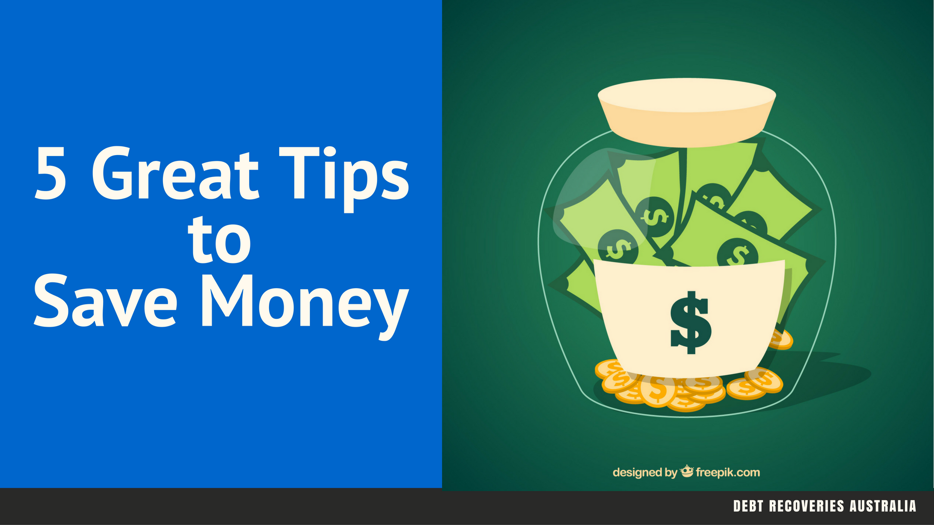 5 Great Tips to Save Money
