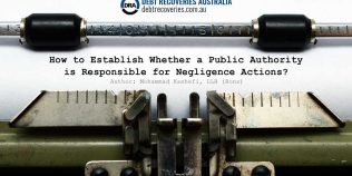 Wrongs Act - Liability of Public Authority