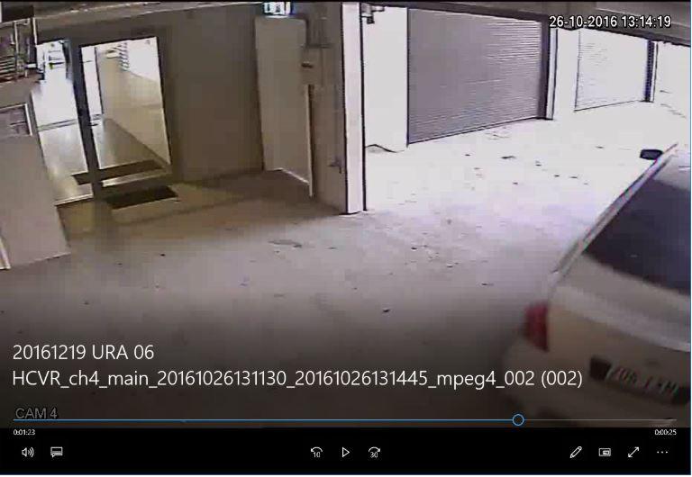 CCTV footage Strata Insurance Claim