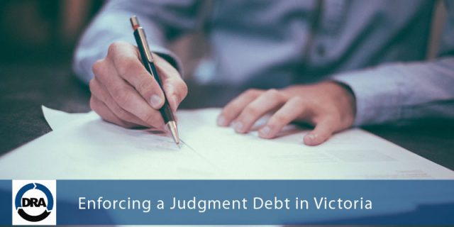 Enforcing-a-Judgment-Debt-in-Victoria-DRA
