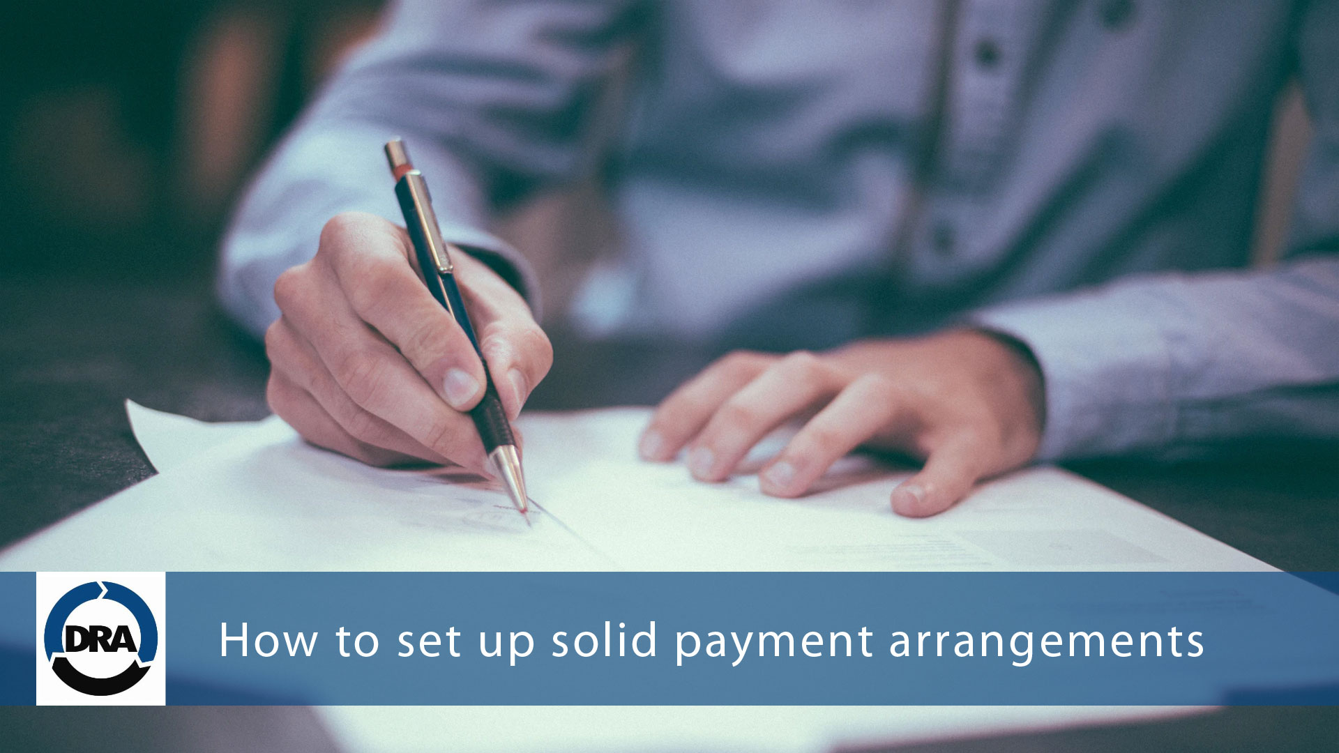 How to set up solid payment arrangements